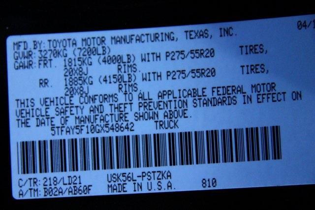 2016 Toyota Tundra 1794 Stock 548642 For Sale Near