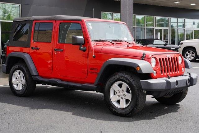 Used 2018 Jeep Wrangler JK Unlimited Sport | Roswell, GA