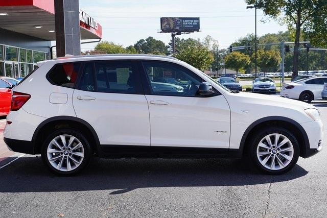 Used 2017 BMW X3 xDrive28i for sale Sold at Gravity Autos Roswell in Roswell GA 30076 8