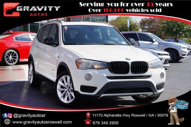 Used 2017 BMW X3 xDrive28i for sale Sold at Gravity Autos Roswell in Roswell GA 30076 1