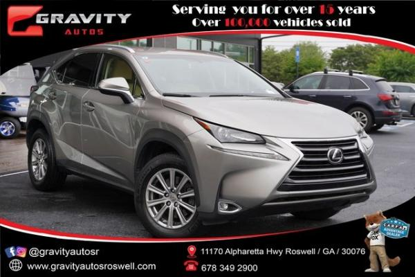 Used 2015 Lexus NX 200t for sale $26,992 at Gravity Autos Roswell in Roswell GA