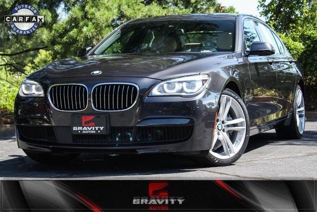 Used 2015 Bmw 7 Series 750li For Sale 27 533 Gravity Autos Stock 781354
