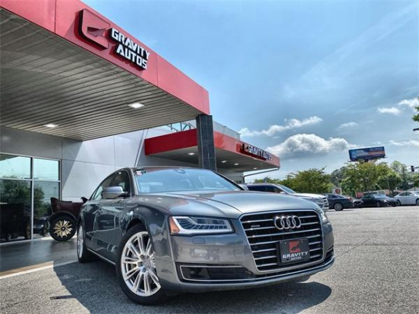 Used 2016 Audi A8 L 3.0T for sale $26,992 at Gravity Autos in Roswell GA 30076 1