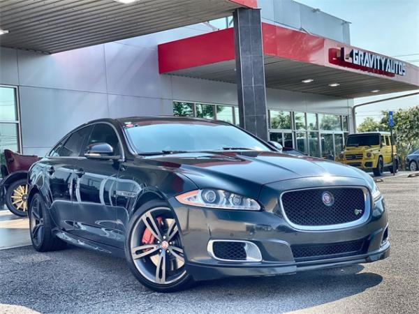 Used 2014 Jaguar XJR Base for sale $33,491 at Gravity Autos in Roswell GA 30076 1