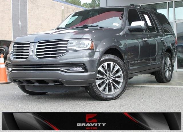Used 2015 Lincoln Navigator Base for sale $23,992 at Gravity Autos in Roswell GA 30076 1