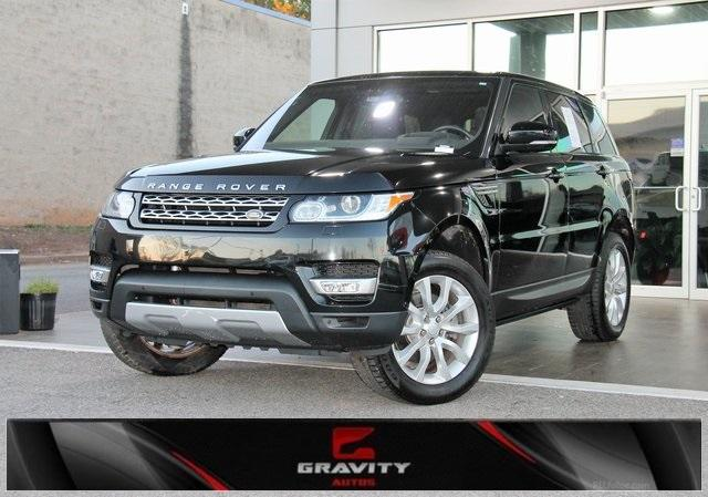 Used 2016 Land Rover Range Rover Sport 3.0L V6 Supercharged HSE for sale $34,992 at Gravity Autos in Roswell GA 30076 1