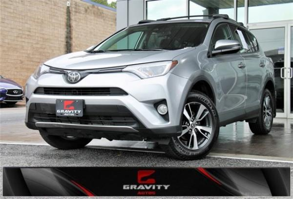 Used 2017 Toyota RAV4 XLE for sale Sold at Gravity Autos in Roswell GA 30076 1