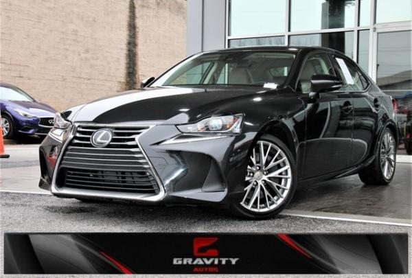Used 2017 Lexus IS 200t for sale $21,492 at Gravity Autos in Roswell GA 30076 1