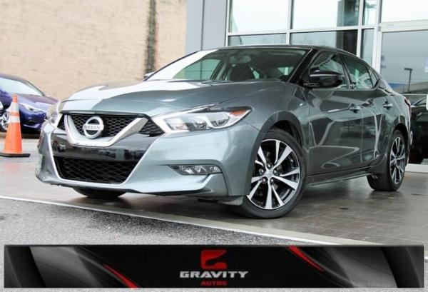 Used 2017 Nissan Maxima 3.5 S for sale $16,492 at Gravity Autos in Roswell GA 30076 1