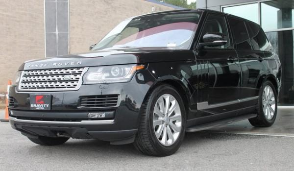 Used 2016 Land Rover Range Rover 3.0L V6 Supercharged HSE for sale $41,992 at Gravity Autos in Roswell GA 30076 3