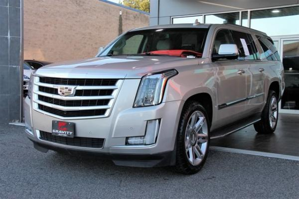 Used 2016 Cadillac Escalade ESV Luxury for sale $36,992 at Gravity Autos in Roswell GA 30076 3