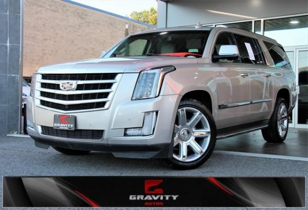 Used 2016 Cadillac Escalade ESV Luxury for sale $36,992 at Gravity Autos in Roswell GA 30076 1