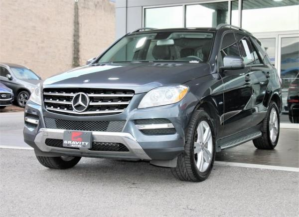 Used 2012 Mercedes-Benz M-Class ML 350 for sale Sold at Gravity Autos in Roswell GA 30076 3