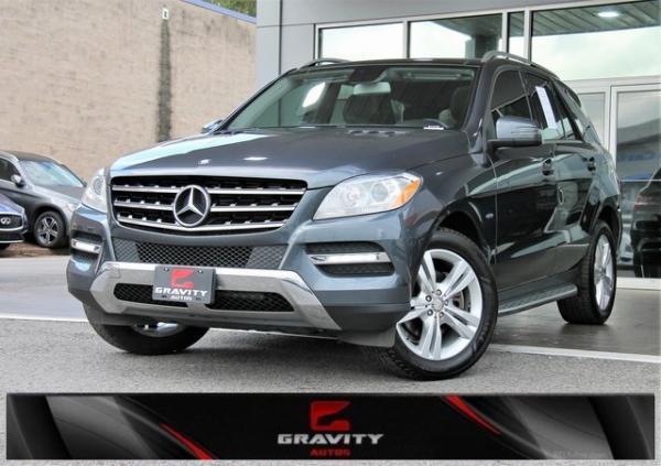 Used 2012 Mercedes-Benz M-Class ML 350 for sale Sold at Gravity Autos in Roswell GA 30076 1