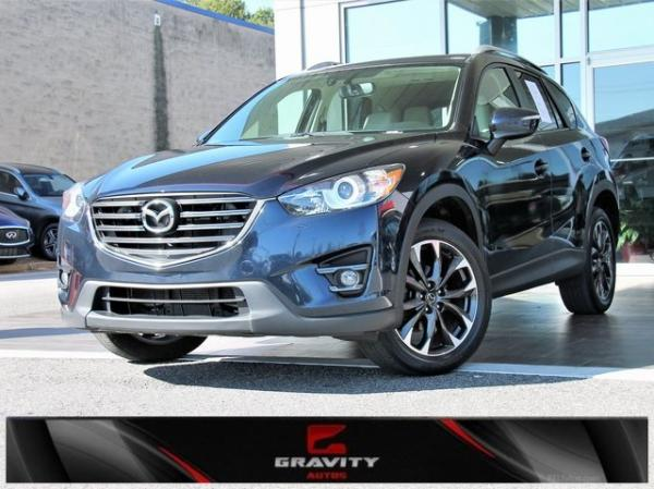 Used 2016 Mazda CX-5 Grand Touring for sale $16,492 at Gravity Autos in Roswell GA 30076 1