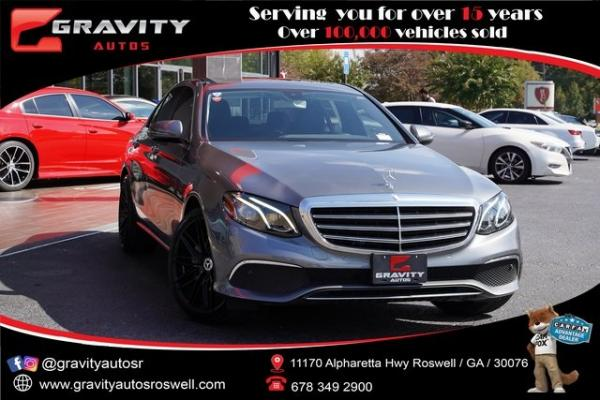 Used 2017 Mercedes-Benz E-Class E 300 for sale $34,992 at Gravity Autos Roswell in Roswell GA