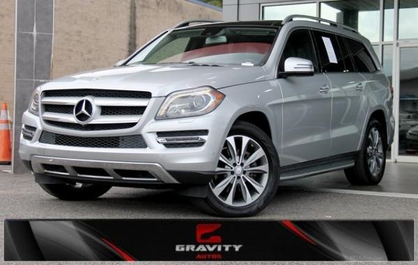 Used 2016 Mercedes-Benz GL-Class GL 450 for sale Sold at Gravity Autos in Roswell GA 30076 1