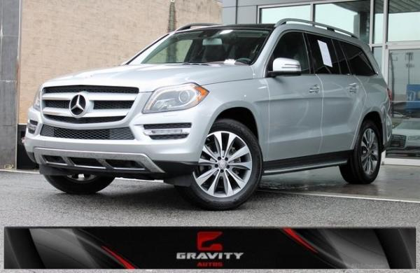 Used 2016 Mercedes-Benz GL-Class GL 450 for sale $28,491 at Gravity Autos in Roswell GA 30076 1