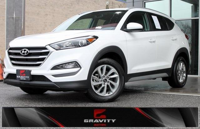 Used 2017 Hyundai Tucson SE for sale Sold at Gravity Autos in Roswell GA 30076 1