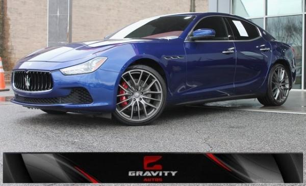 Used 2017 Maserati Ghibli S for sale $31,991 at Gravity Autos in Roswell GA 30076 1