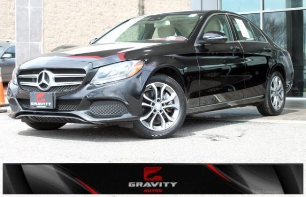 Used 2017 Mercedes-Benz C-Class C 300 for sale $21,492 at Gravity Autos in Roswell GA 30076 1