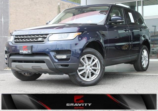 Used 2016 Land Rover Range Rover Sport 3.0L V6 Supercharged SE for sale $34,991 at Gravity Autos in Roswell GA 30076 1