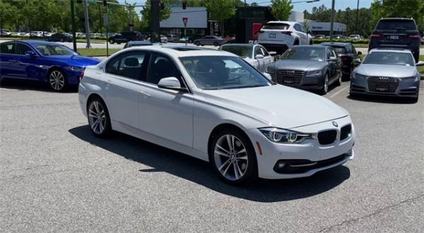 Used 2017 BMW 3 Series 330e iPerformance for sale Sold at Gravity Autos in Roswell GA 30076 2