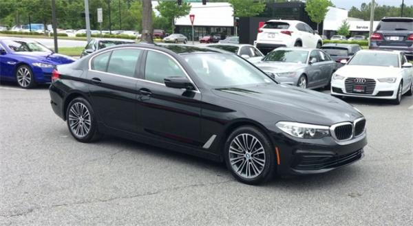 Used 2019 BMW 5 Series 530i for sale $36,492 at Gravity Autos in Roswell GA 30076 2