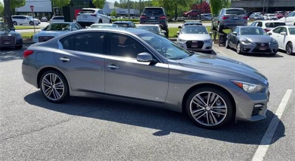 Used 2015 INFINITI Q50 Sport for sale $18,792 at Gravity Autos in Roswell GA 30076 2