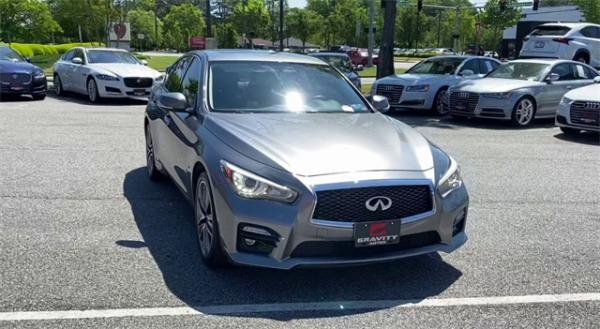 Used 2015 INFINITI Q50 Sport for sale $18,792 at Gravity Autos in Roswell GA 30076 3