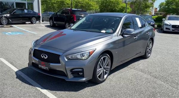Used 2015 INFINITI Q50 Sport for sale $18,792 at Gravity Autos in Roswell GA 30076 4