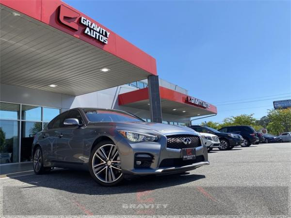 Used 2015 INFINITI Q50 Sport for sale $18,792 at Gravity Autos in Roswell GA 30076 1