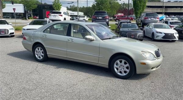 Used 2002 Mercedes-Benz S-Class S 500 for sale $4,991 at Gravity Autos in Roswell GA 30076 2