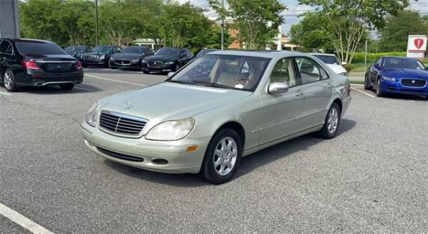 Used 2002 Mercedes-Benz S-Class S 500 for sale $4,991 at Gravity Autos in Roswell GA 30076 4