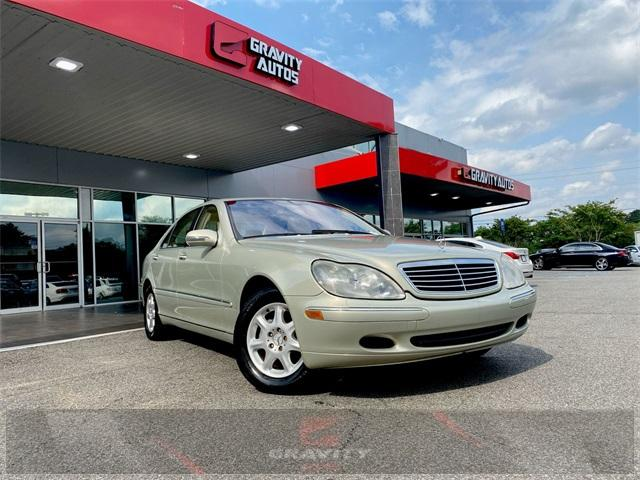 Used 2002 Mercedes-Benz S-Class S 500 for sale $4,991 at Gravity Autos in Roswell GA 30076 1