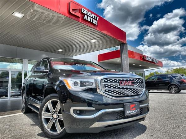 Used 2017 GMC Acadia Denali for sale $24,992 at Gravity Autos in Roswell GA 30076 1
