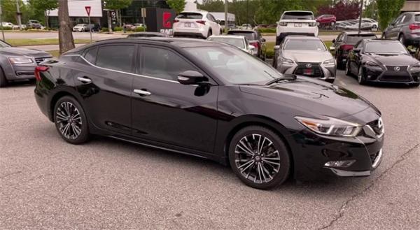 Used 2016 Nissan Maxima Platinum for sale Sold at Gravity Autos in Roswell GA 30076 2