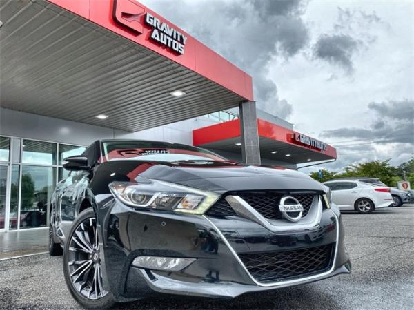 Used 2016 Nissan Maxima Platinum for sale Sold at Gravity Autos in Roswell GA 30076 1