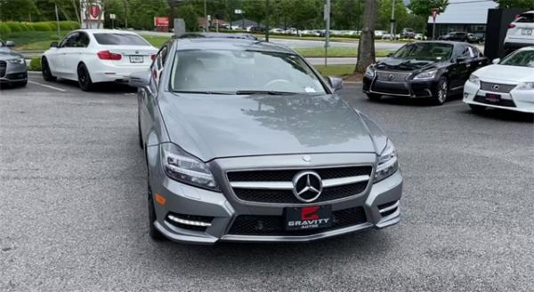Used 2014 Mercedes-Benz CLS CLS 550 for sale $23,991 at Gravity Autos in Roswell GA 30076 3