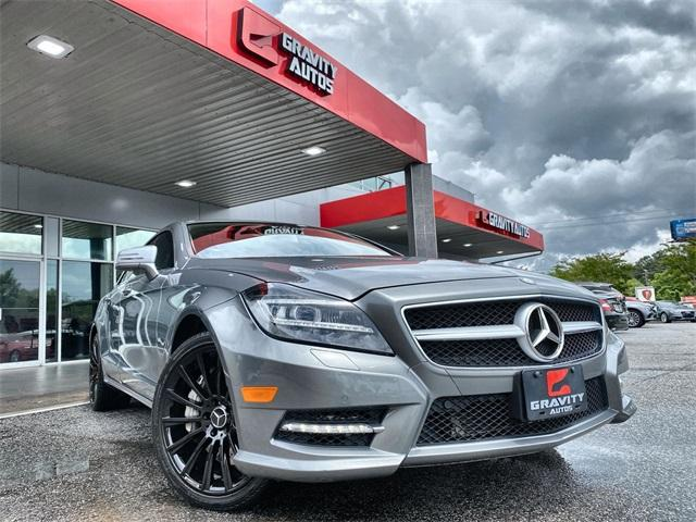 Used 2014 Mercedes-Benz CLS CLS 550 for sale $23,991 at Gravity Autos in Roswell GA 30076 1
