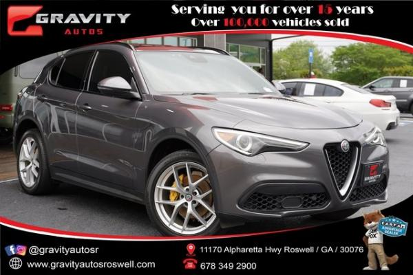 Used 2018 Alfa Romeo Stelvio Ti for sale $27,991 at Gravity Autos in Roswell GA 30076 1