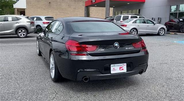 Used 2017 BMW 6 Series 640i xDrive Gran Coupe for sale Sold at Gravity Autos Roswell in Roswell GA 30076 7