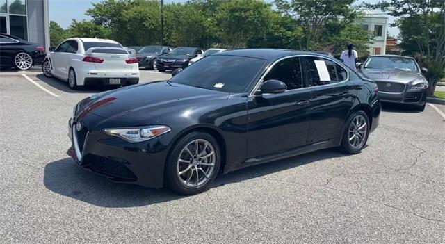 Used 2018 Alfa Romeo Giulia Base for sale Sold at Gravity Autos Roswell in Roswell GA 30076 4