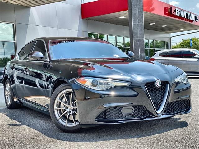Used 2018 Alfa Romeo Giulia Base for sale Sold at Gravity Autos Roswell in Roswell GA 30076 1