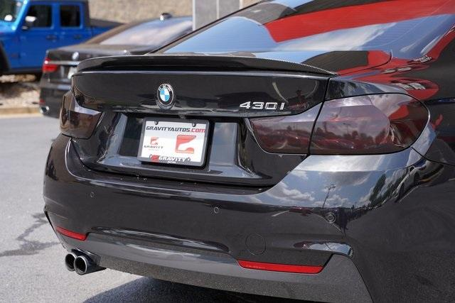 Used 2017 BMW 4 Series 430i for sale Sold at Gravity Autos Roswell in Roswell GA 30076 12