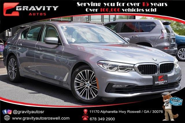 Used 2017 BMW 5 Series 540i xDrive for sale $37,992 at Gravity Autos Roswell in Roswell GA 30076 1