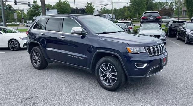 Used 2017 Jeep Grand Cherokee Limited for sale Sold at Gravity Autos Roswell in Roswell GA 30076 2