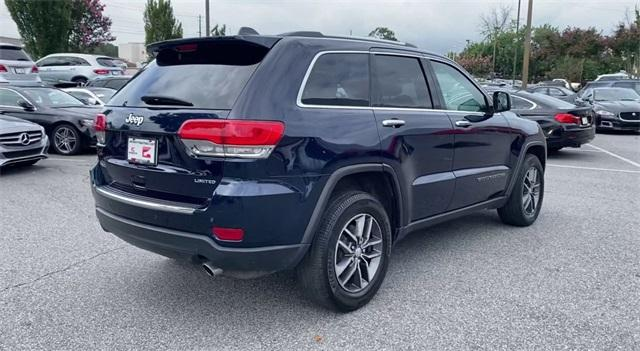 Used 2017 Jeep Grand Cherokee Limited for sale Sold at Gravity Autos Roswell in Roswell GA 30076 8