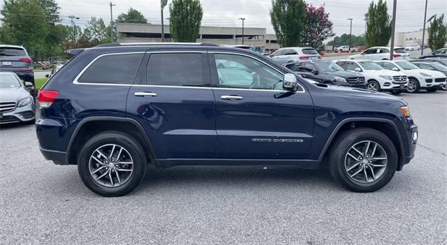 Used 2017 Jeep Grand Cherokee Limited for sale Sold at Gravity Autos Roswell in Roswell GA 30076 9