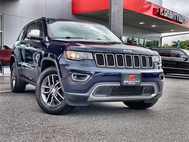 Used 2017 Jeep Grand Cherokee Limited for sale Sold at Gravity Autos Roswell in Roswell GA 30076 1
